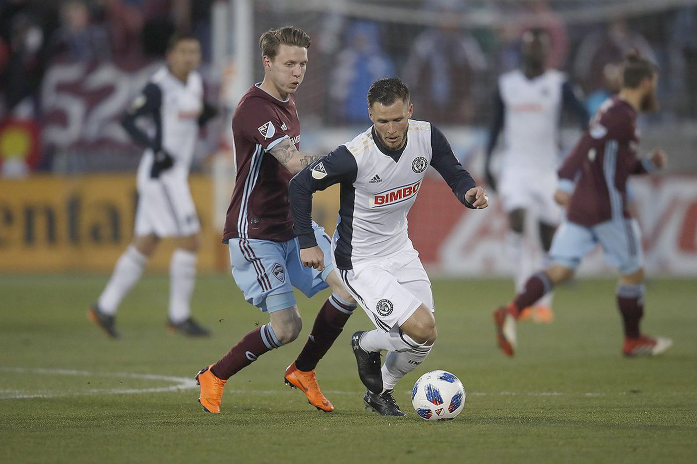 Union's loss at Rapids set record for youngest defense in MLS history, for better and worse