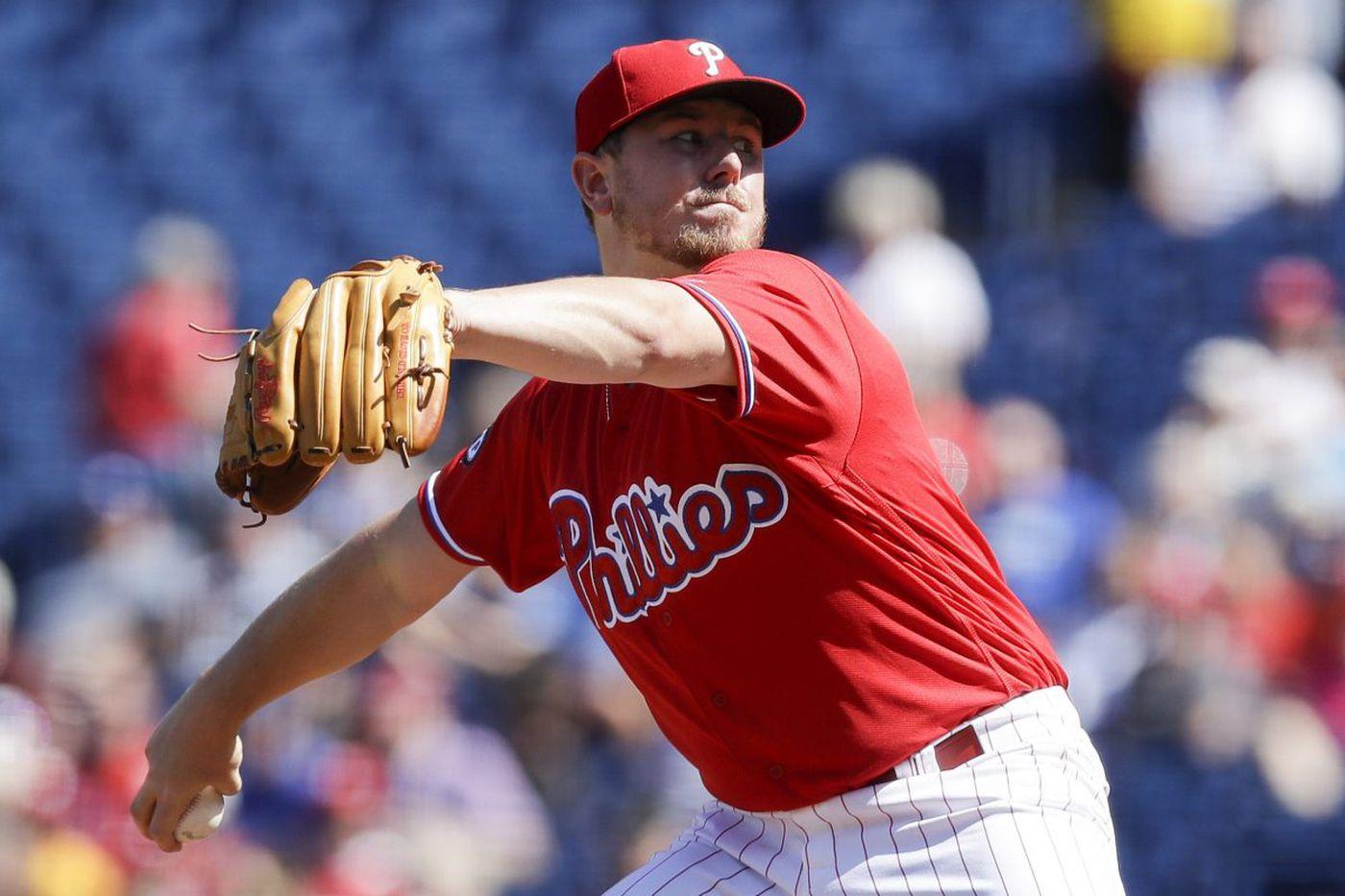 Phillies pitcher Mark Leiter Jr. to start season on disabled list