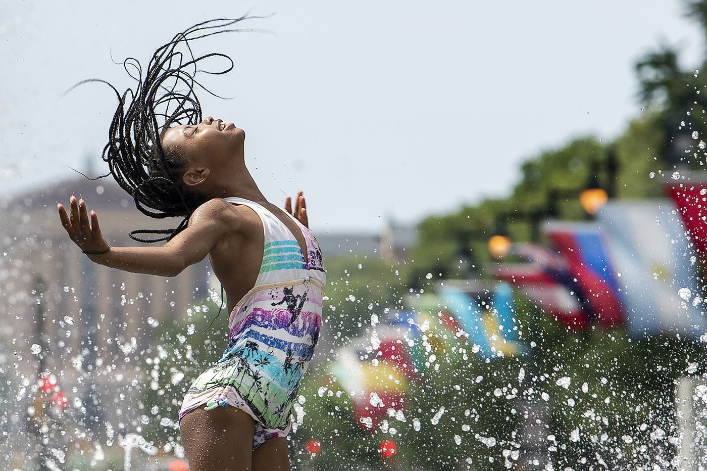 Philly heat emergency continues; strong storms possible late Wednesday and Thursday
