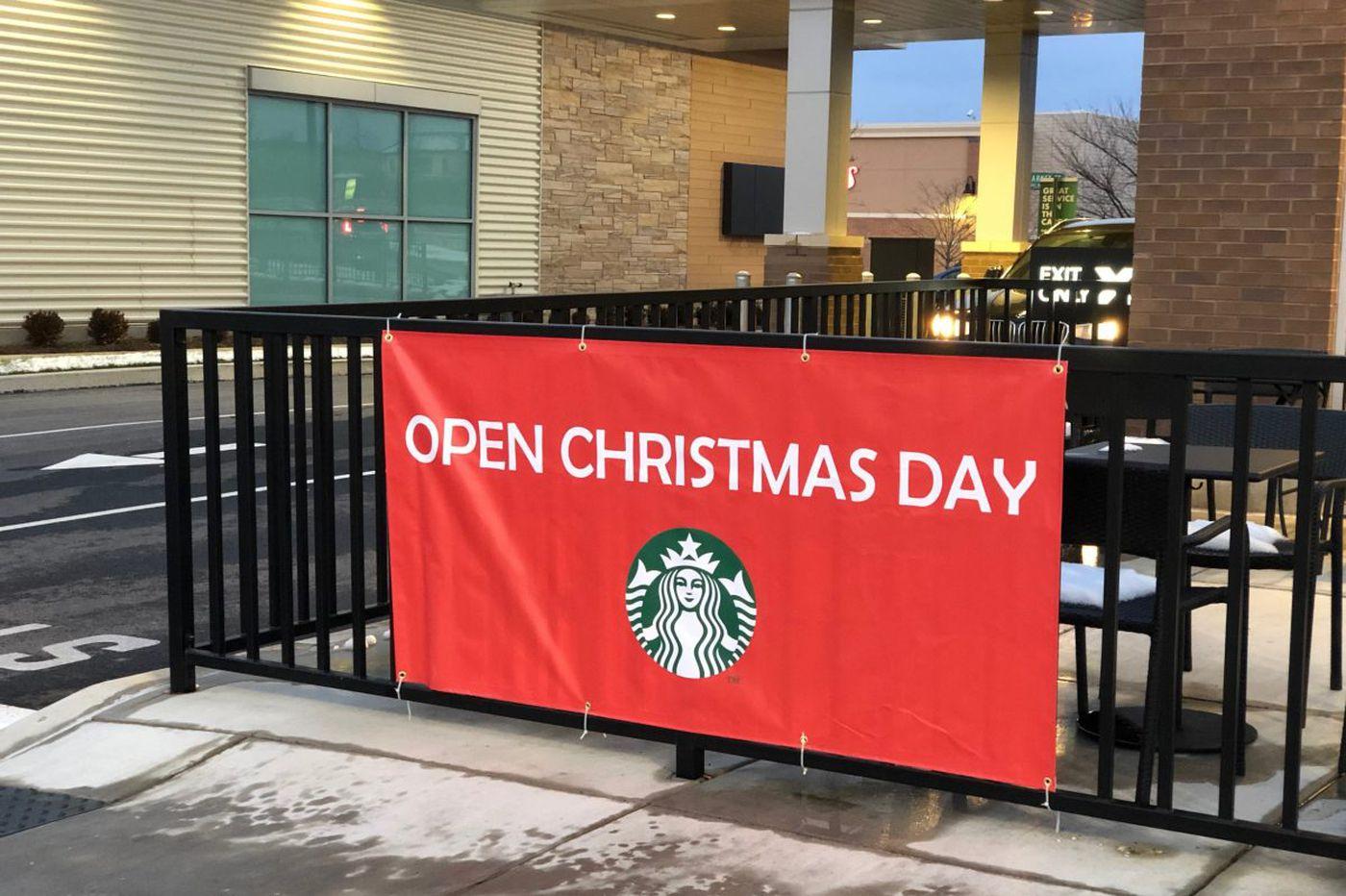 What restaurants are open on Christmas in Philadelphia?