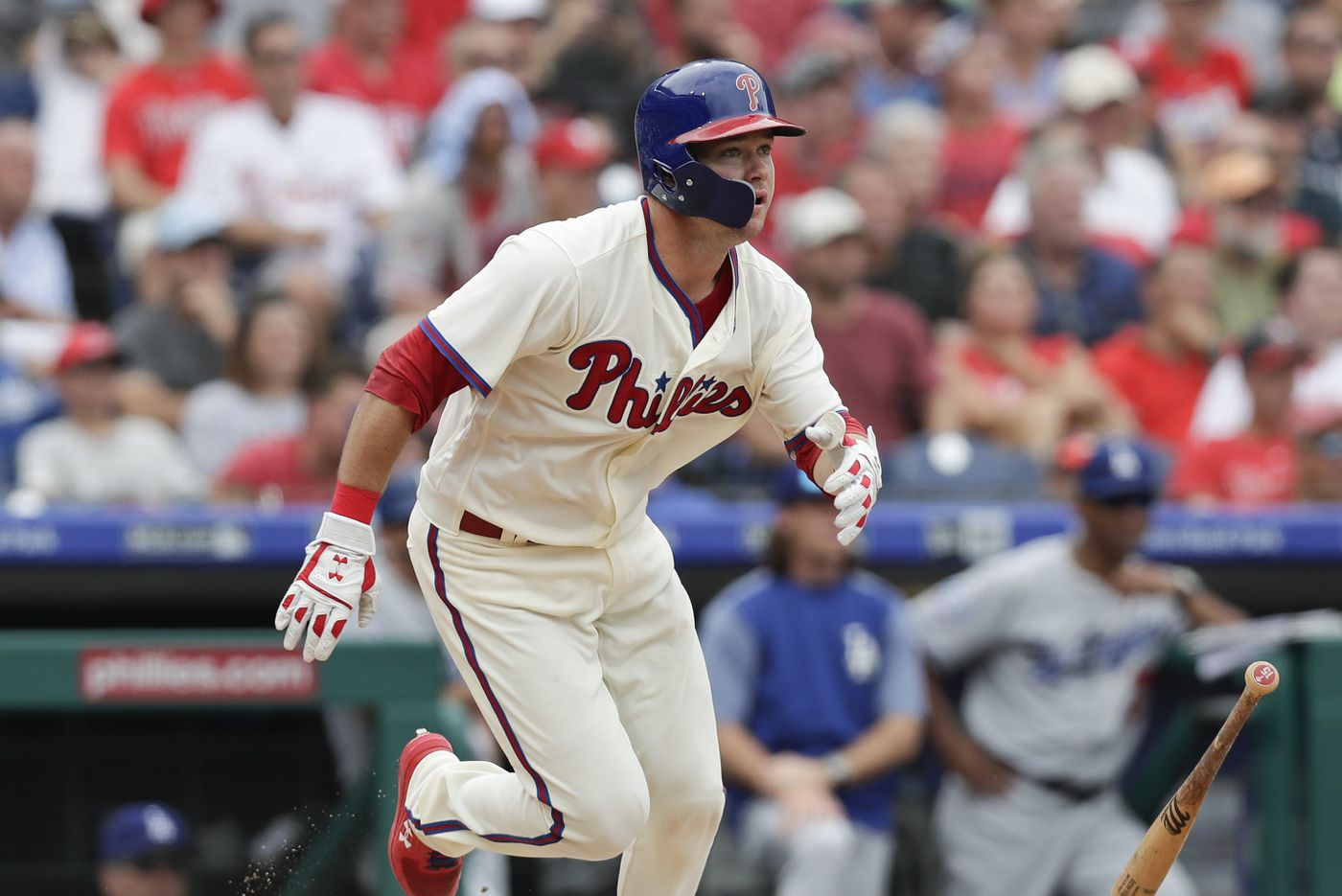 Phillies ride big fifth inning to statement-making series victory over Dodgers