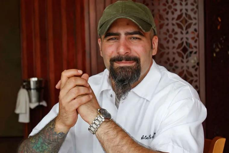Chef Alex Capasso, in 2008.