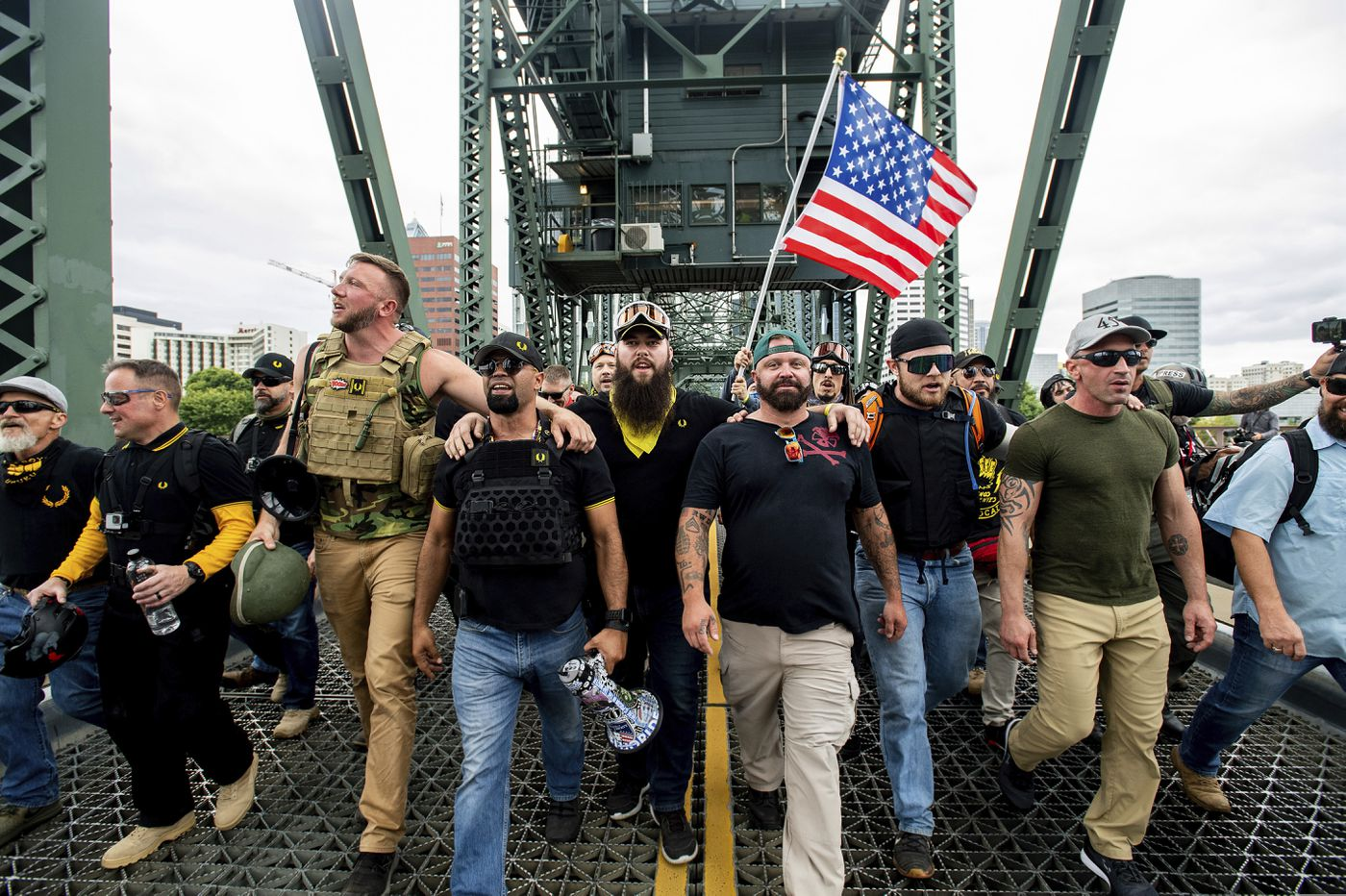 Portland, Oregon 'ground zero' for protests between right, left-wing
