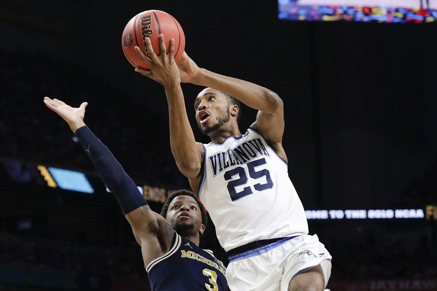 Villanova's Mikal Bridges passing up final season to enter NBA draft