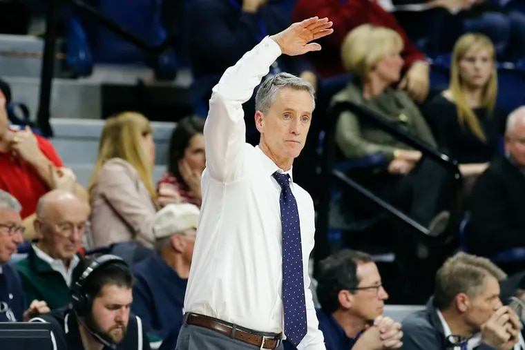 Steve Donahue coached Penn to a season-opening victory Tuesday night.