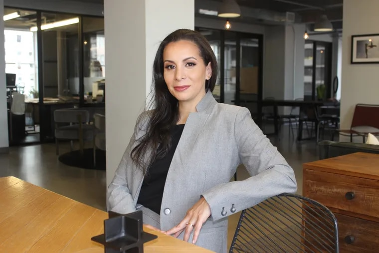 Parallel Architecture Studio owner Carolina Peña. She applied for an SBA loan and has still not heard back from her bank.