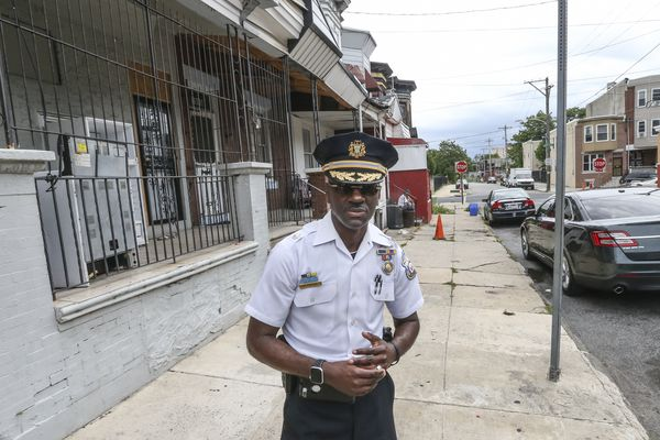 In the Northwest Philly neighborhood where he grew up, a police inspector reckons with rising gun violence | Mike Newall