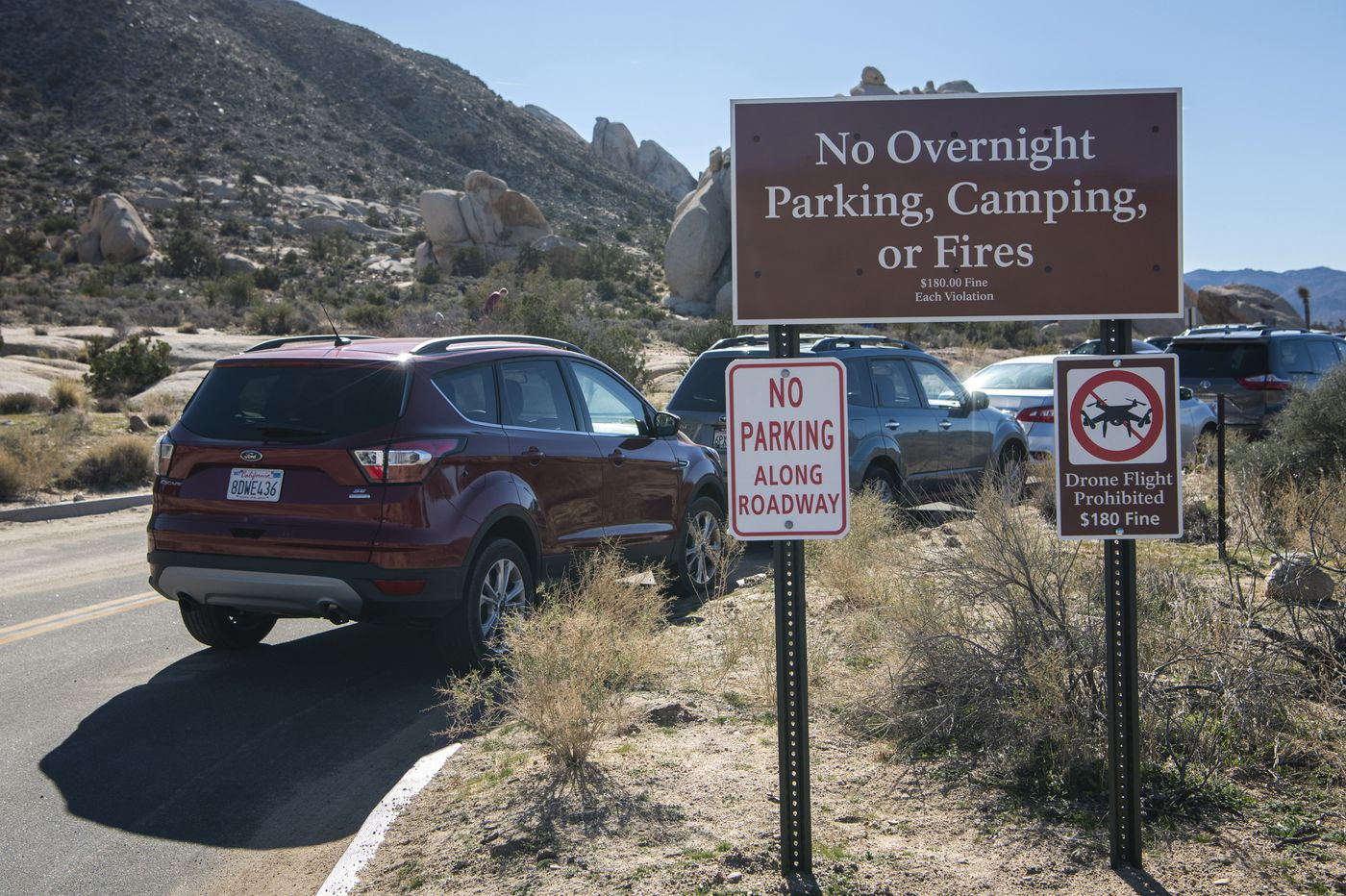 During shutdown, some national parks are heavily populated and barely supervised