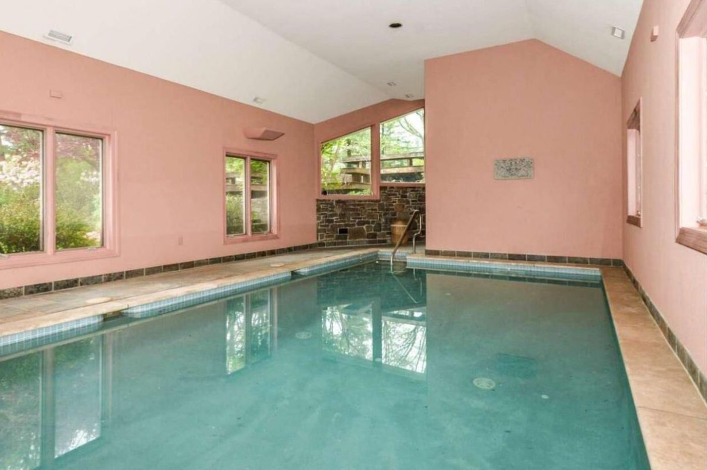 Too cold for a swim? Not in these Philly suburban mansions