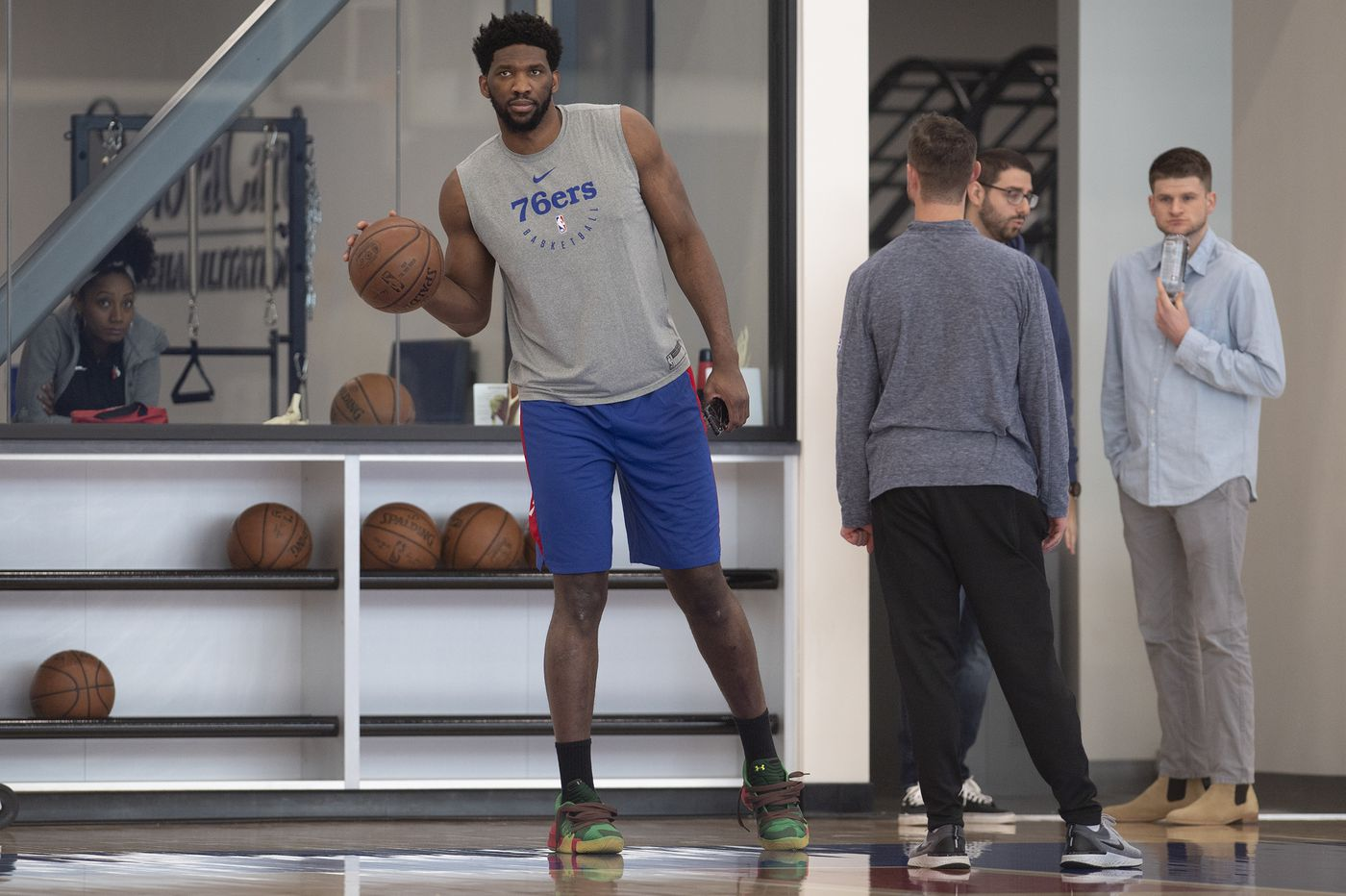 Sixers' Joel Embiid benefiting from low minutes in Nets series
