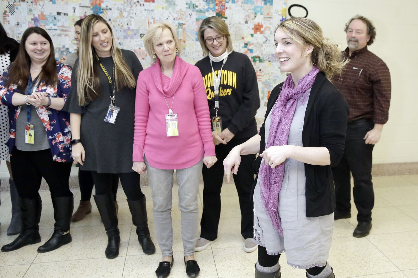 One outfit, 100 days: South Jersey art teacher completes 'eco mission' to educate students