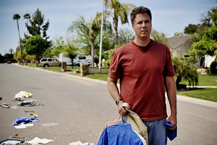 """Will Ferrell's life is turned upside down in """"Everything Must Go."""""""
