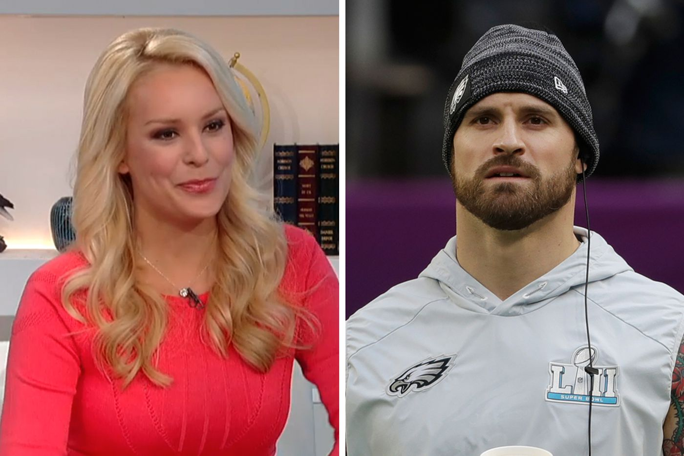Britt McHenry thrilled about Fox Nation show, but regrets calling out Eagles defender Chris Long