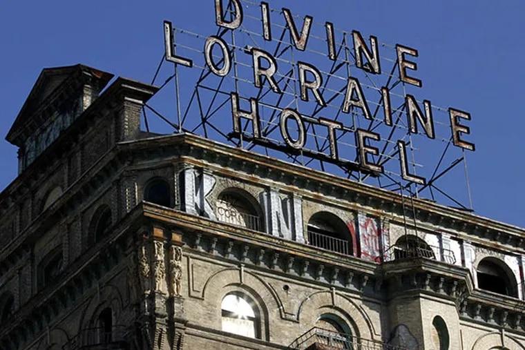 The Divine Lorraine building on North Broad Street in Philadelphia. MICHAEL S. WIRTZ, File / Staff Photographer