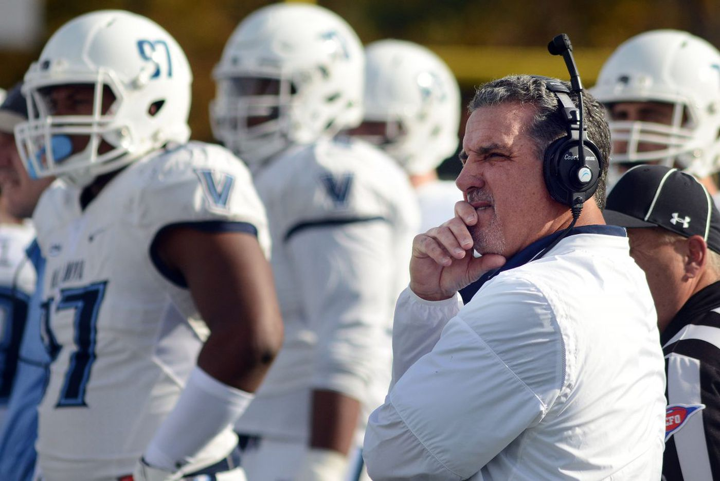 Villanova football trying to take something positive away from season to forget