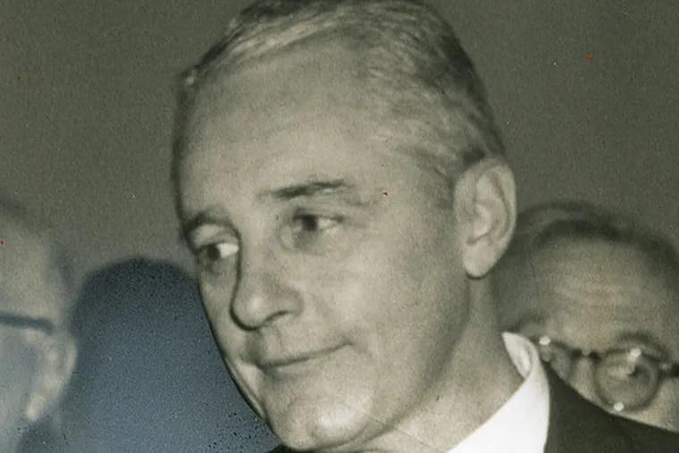 Mayor Richardson Dilworth , who later ran Philadelphia schools. File