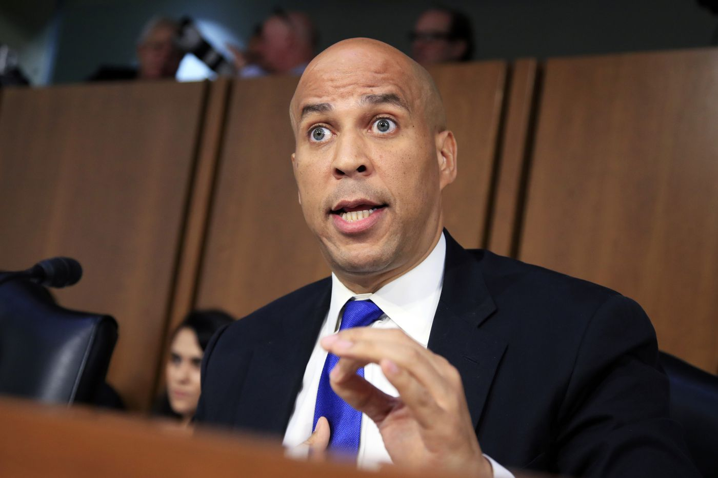 In 1992, Cory Booker admitted to groping a high school classmate and issued a call for sexual respect