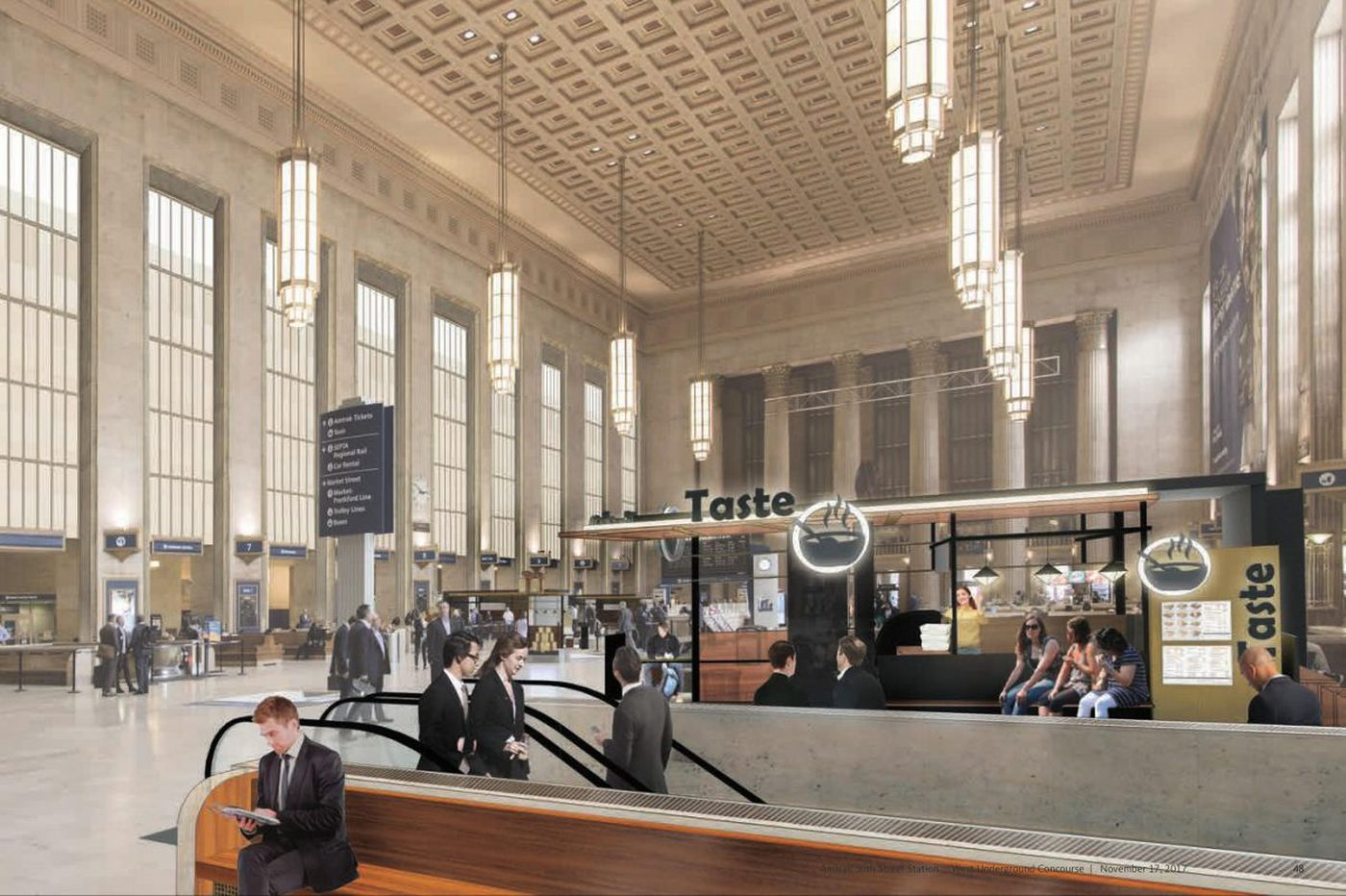 Amtrak resumes search for 30th St. development overseer with focus on shops, restaurants at station