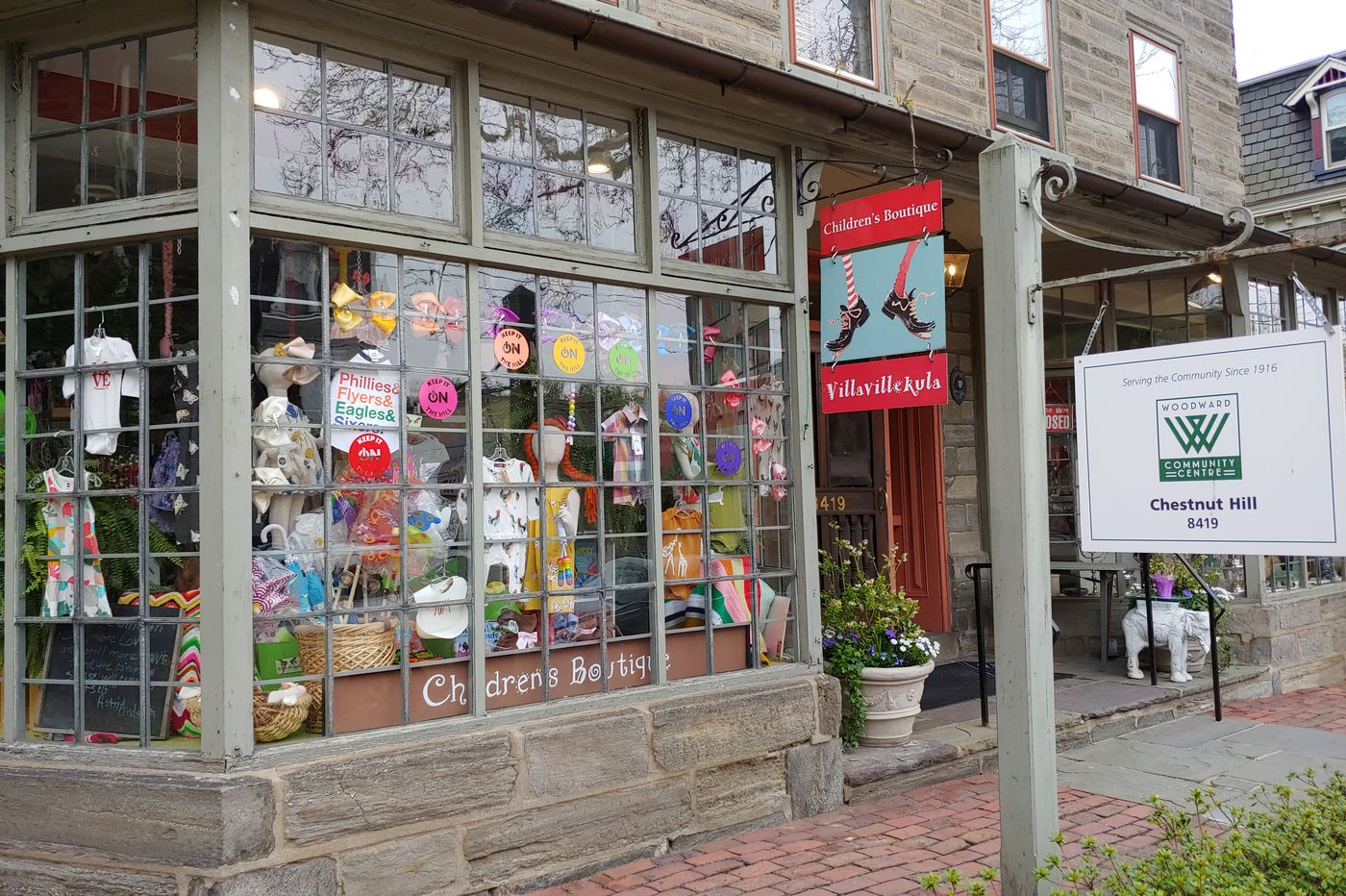 Chestnut Hill looks for small-business support as its main street, like so many others, remains empty