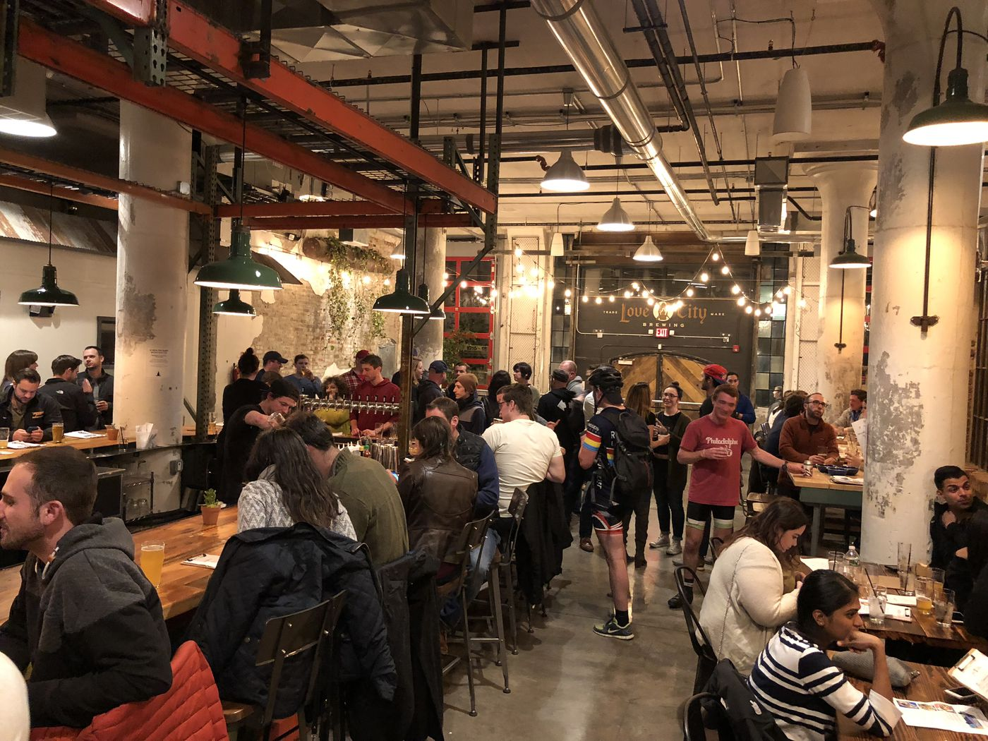 Love City Brewing Co. opens in Callowhill