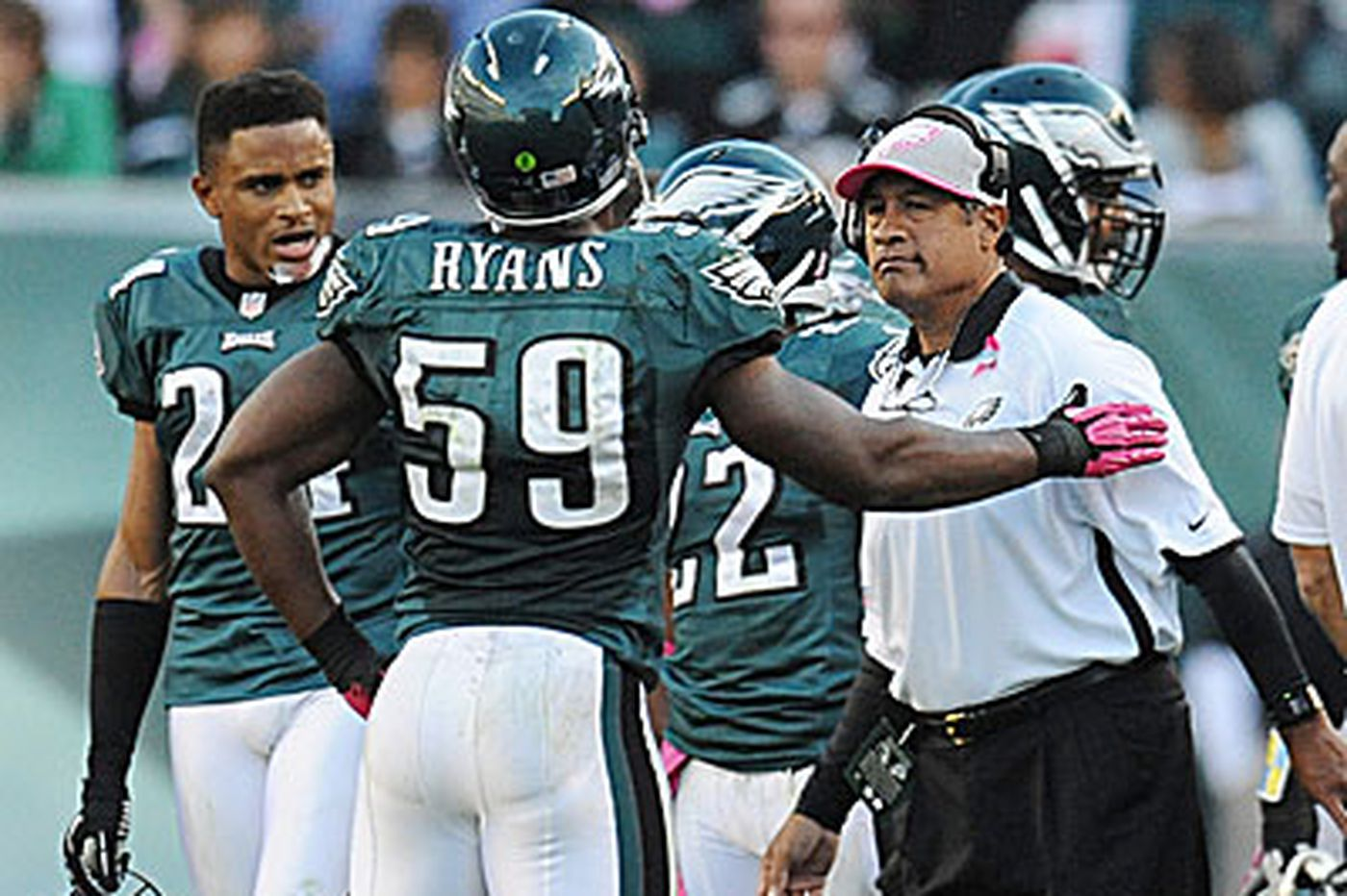 Rich Hofmann: Asomugha questions Eagles' late-game defensive strategy