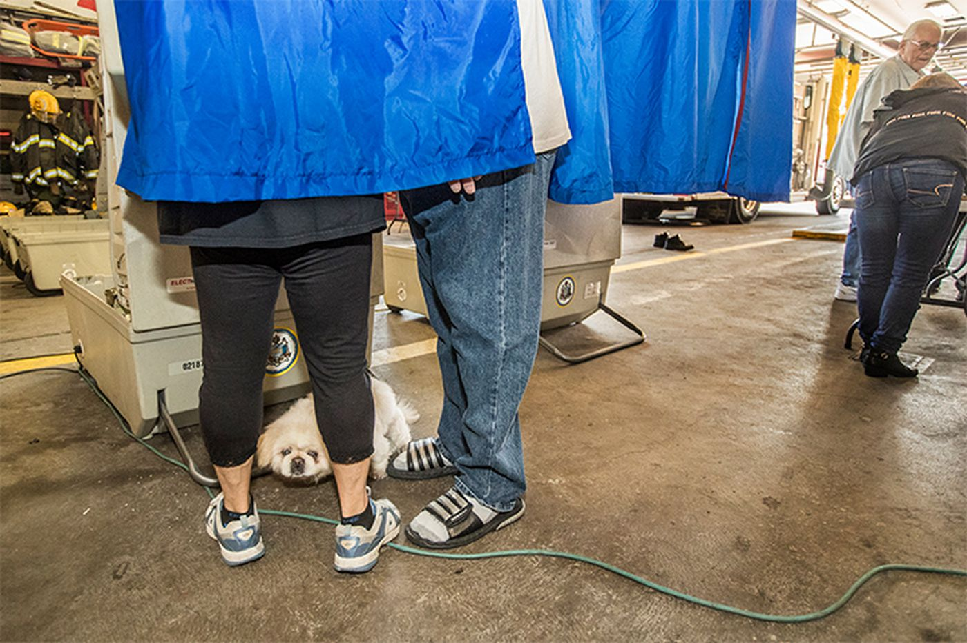 Why Philly has more than 800 polling places and why some are just, well, strange
