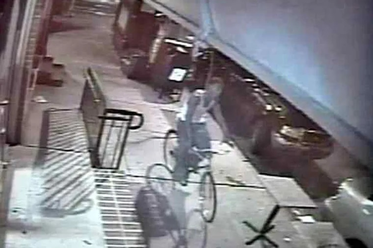 Philadelphia police released surveillance video of a man called a person of interest in the slaying of Sabina Rose O'Donnell.