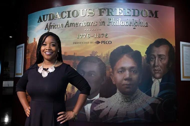 Ashley Jordan named new president of African American Museum of Philadelphia.