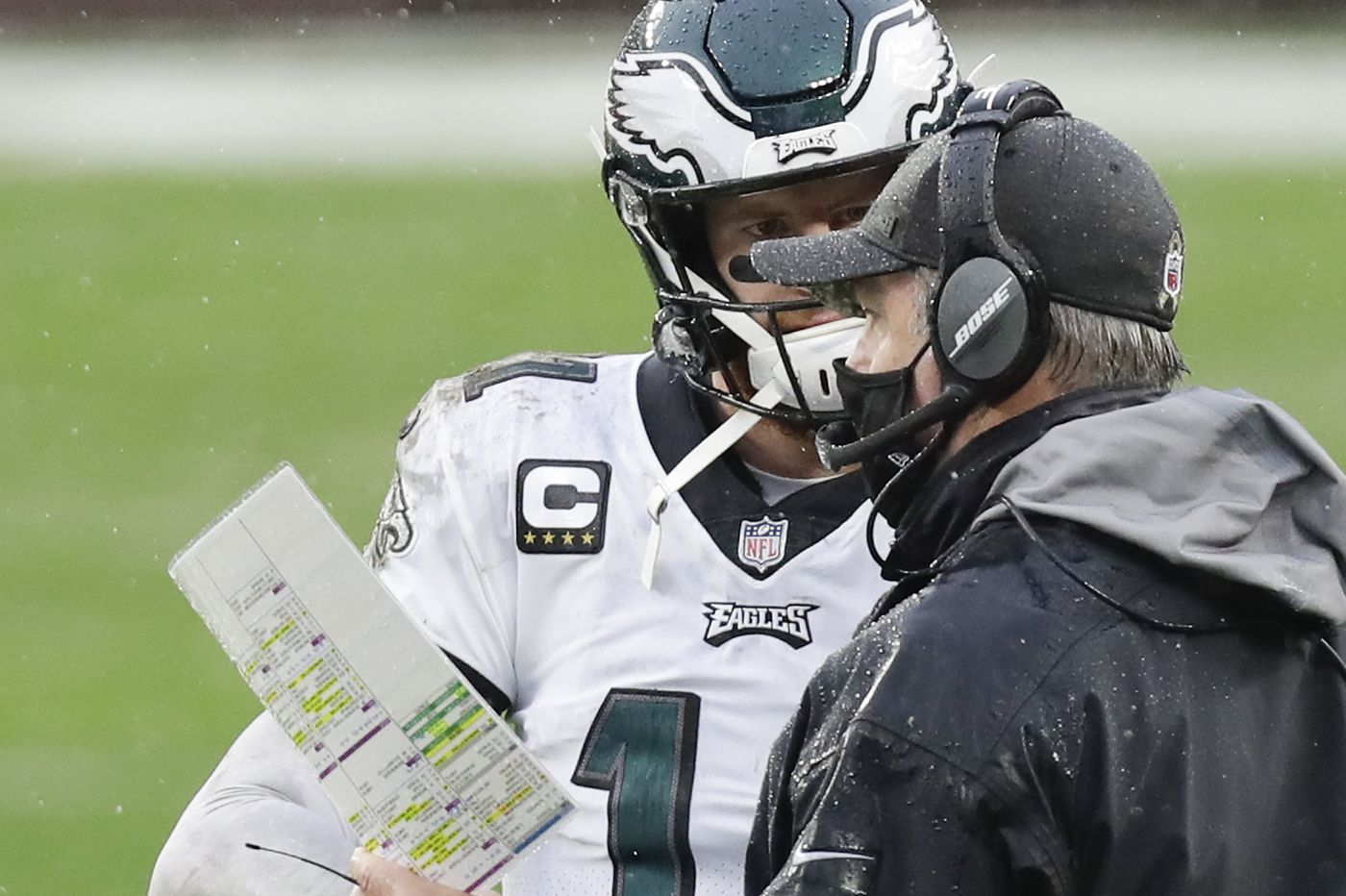 Carson Wentz pilots another Eagles debacle as Jalen Hurts looks on | Marcus Hayes
