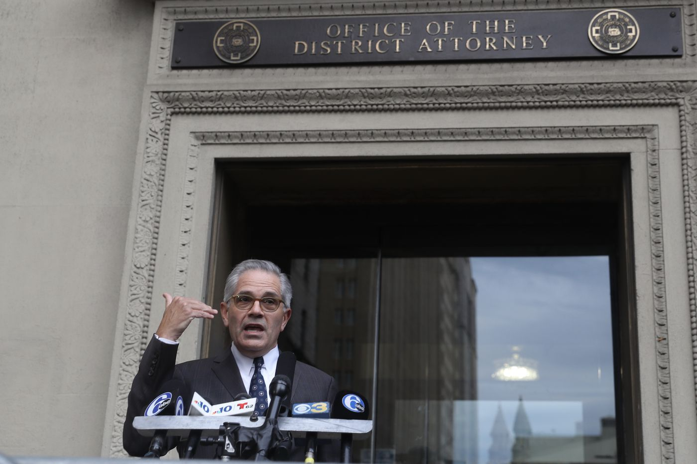 Retired Philly cops looking to unseat Larry Krasner lose first battle with billionaire George Soros