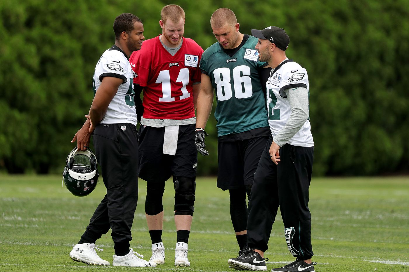 Eagles practice observations: Jalen Mills locks down; Nelson Agholor explodes; Dallas Goedert catches on