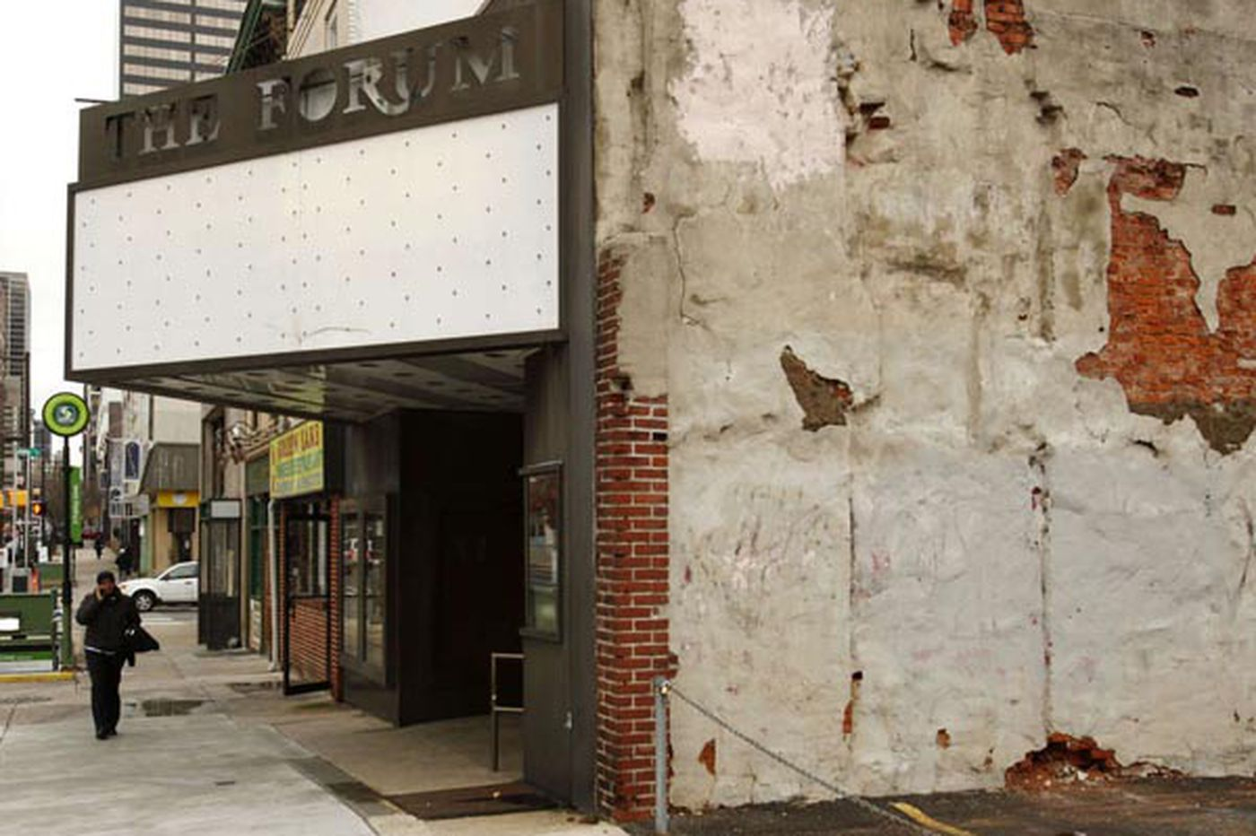 Parkway affiliate virtually controls block near former porn theater on W. Market