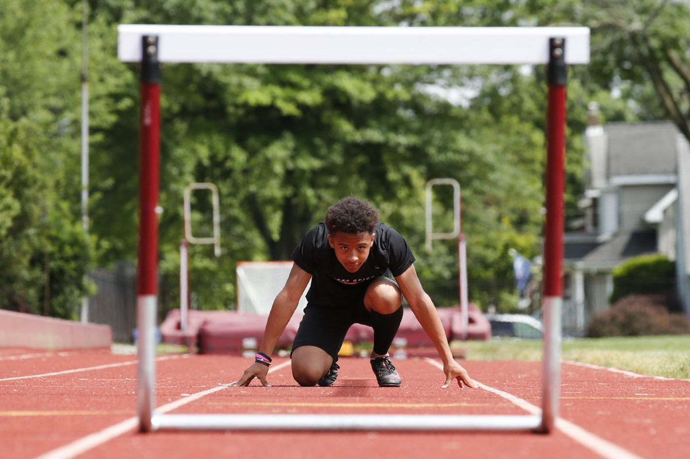 Cameron Kee leads Haddon Heights track team in pursuit of state title