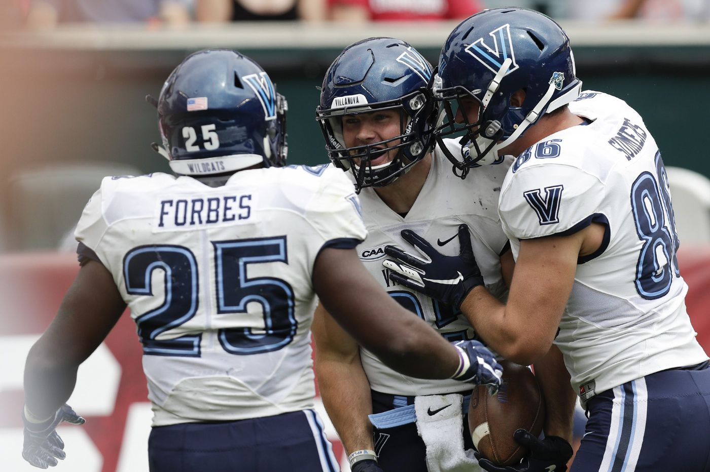 Villanova football finds the answers it was looking for in upset of Temple