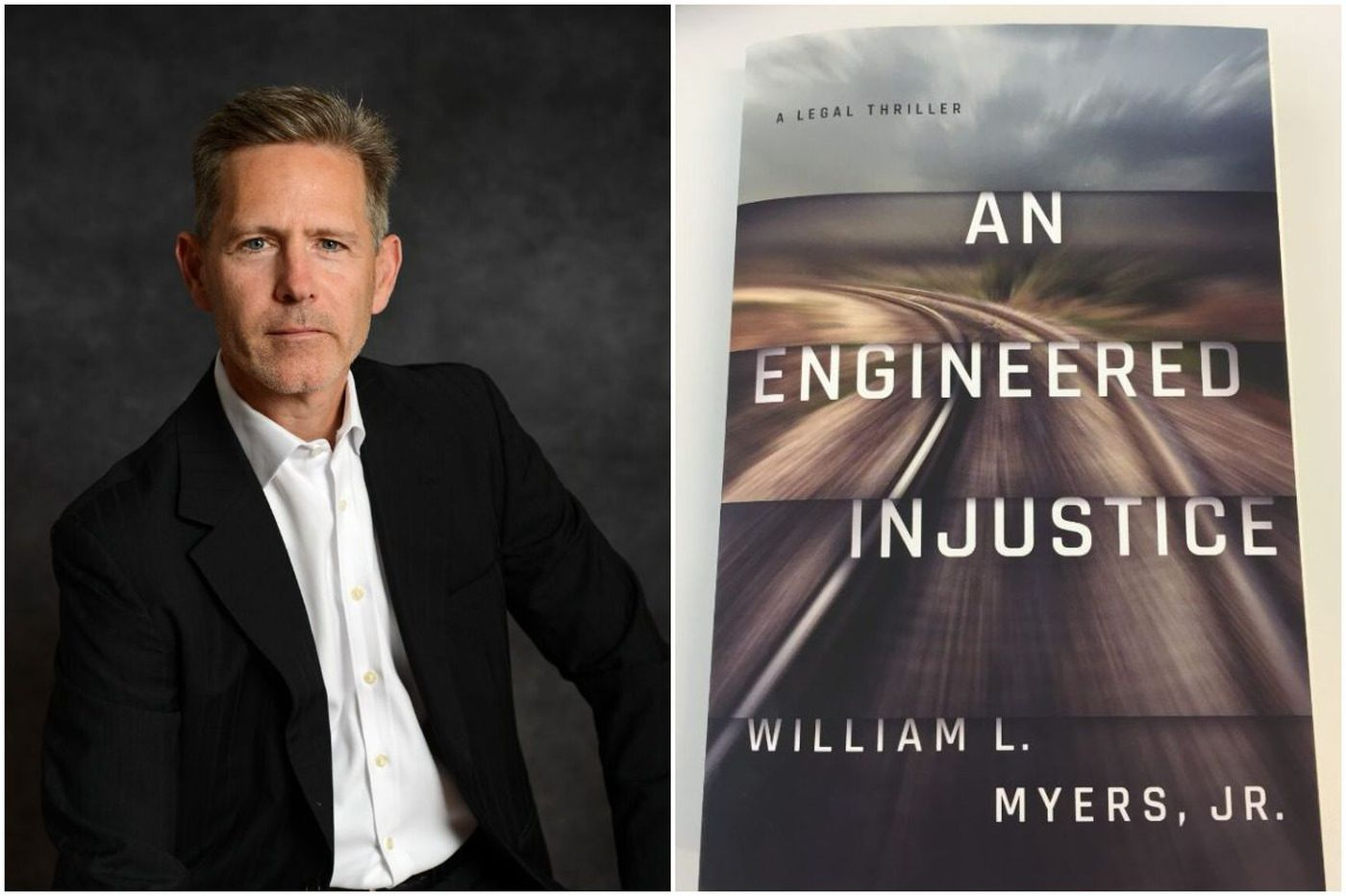 Philly lawyer writes legal thriller loosely based on 2015 Amtrak crash