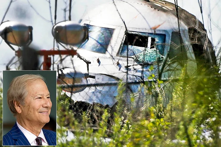 Transcripts of cockpit voice recordings from the last seconds of the May 31, 2014 flight that killed Inquirer co-owner Lewis Katz and six others were released by the National Transportation Safety Board on Wednesday. (Photo: Jim Davis/Globe Staff)