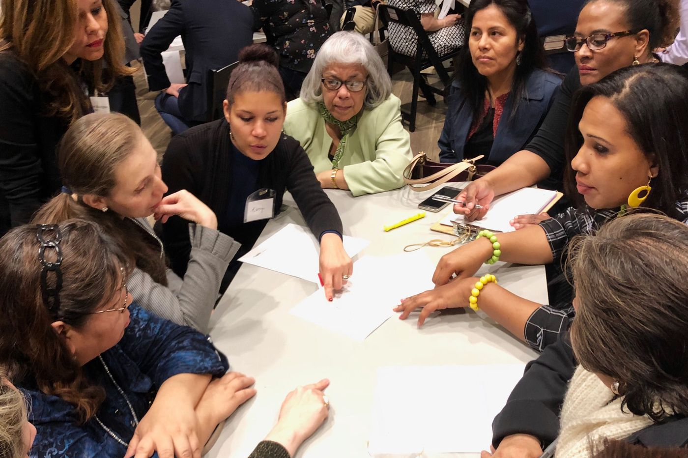 Latino small-business owners give Hispanic Chamber their wish list for resources in first 'one-on-one' session