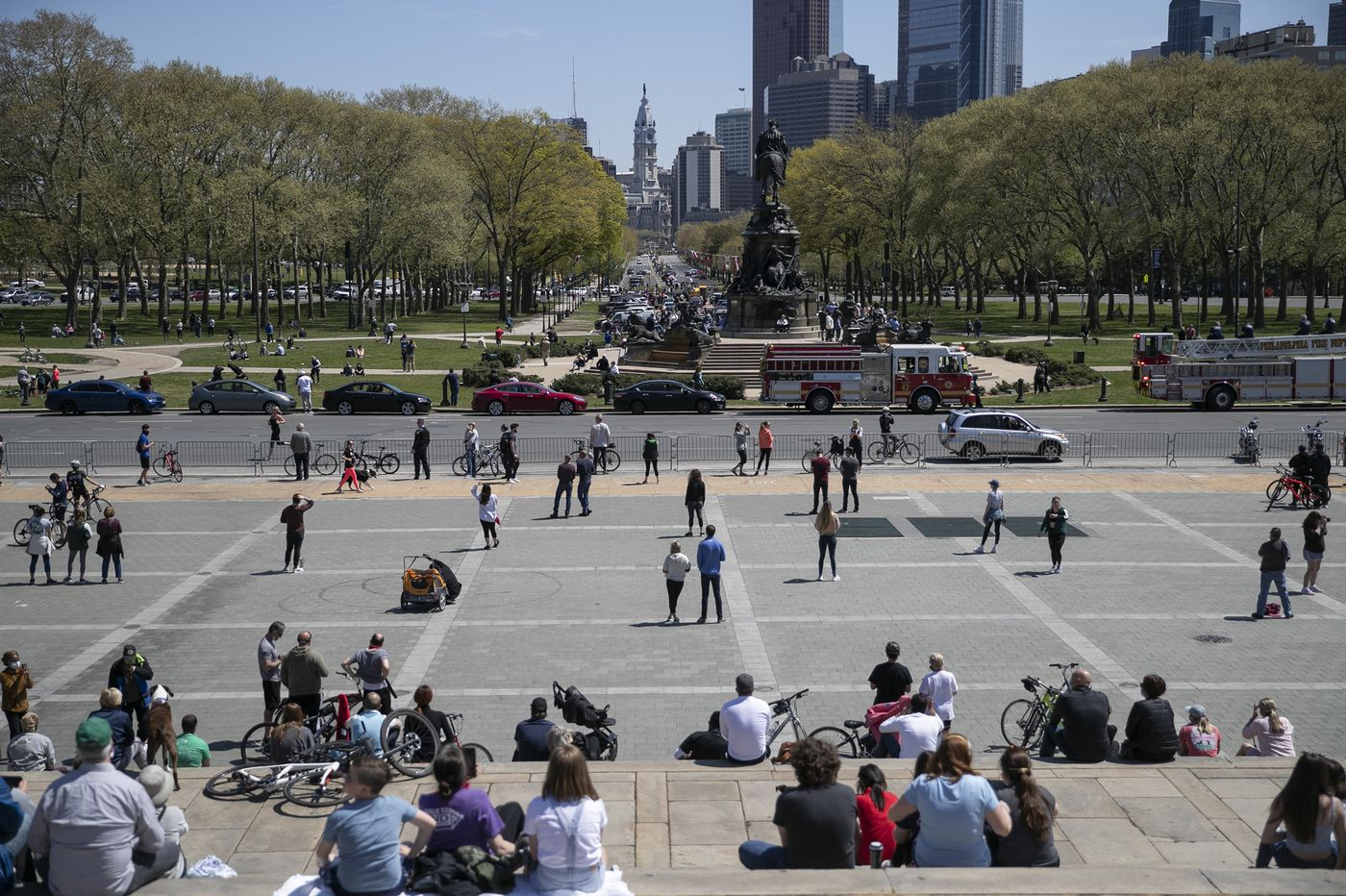 Warm weather draws risky crowds to parks. Here's how Philly can make them safer. | Opinion