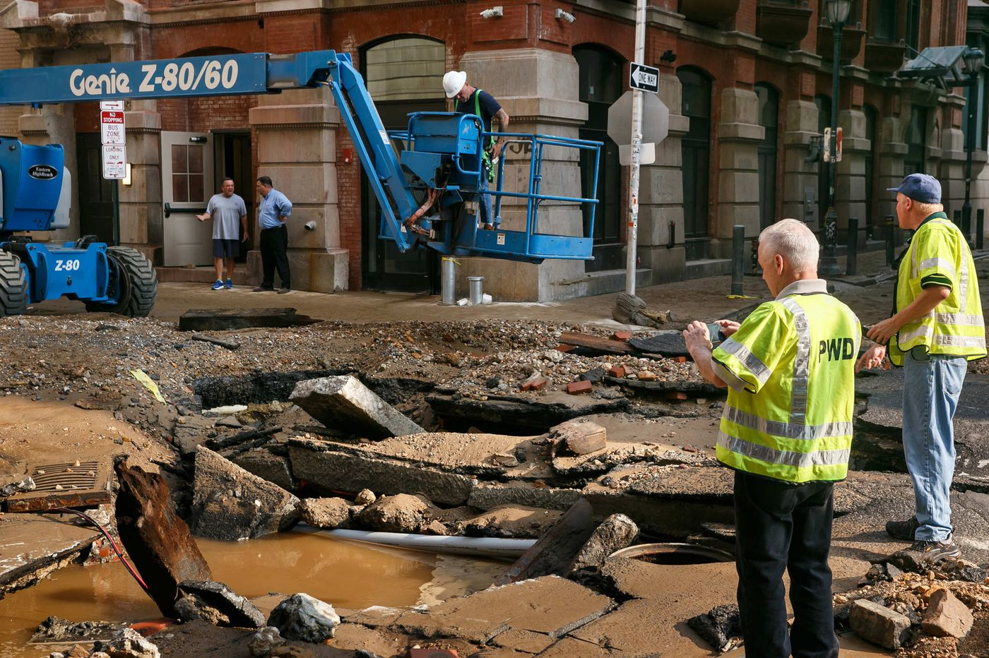 Cause of water main break that flooded Philadelphia's Center City unknown
