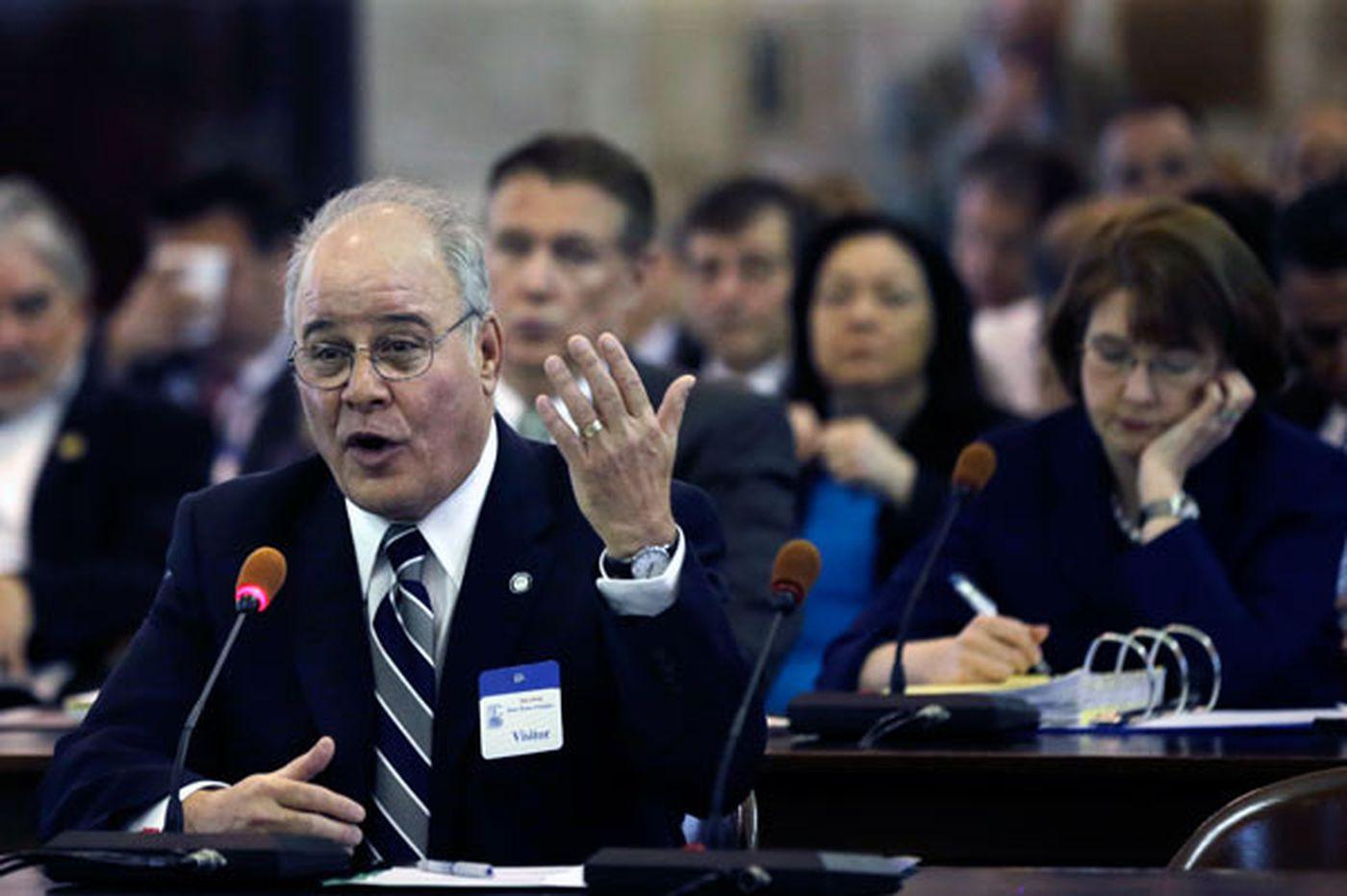 Amid turmoil, Stockton's acting president drops plan to leave