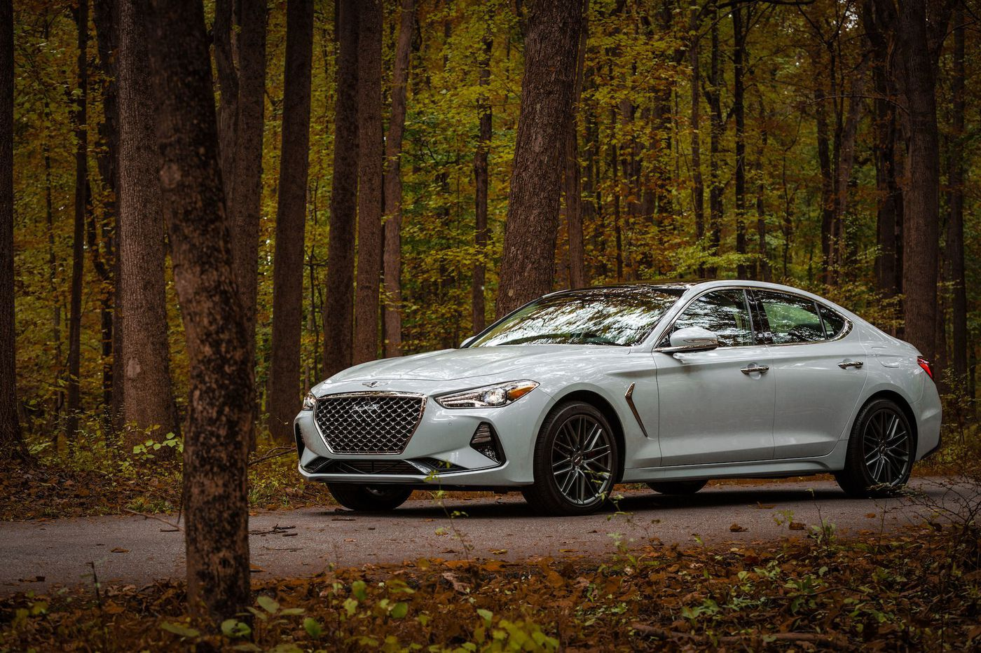 Genesis begets the G70, a new smaller sporty sedan