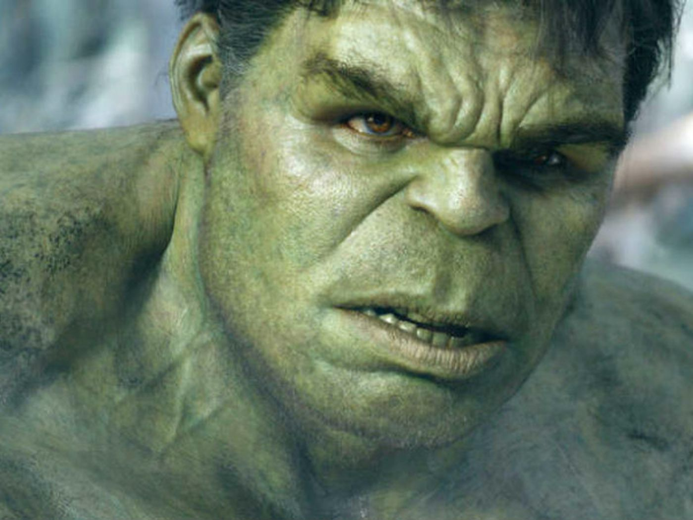 Mark Ruffalo as Hulk.