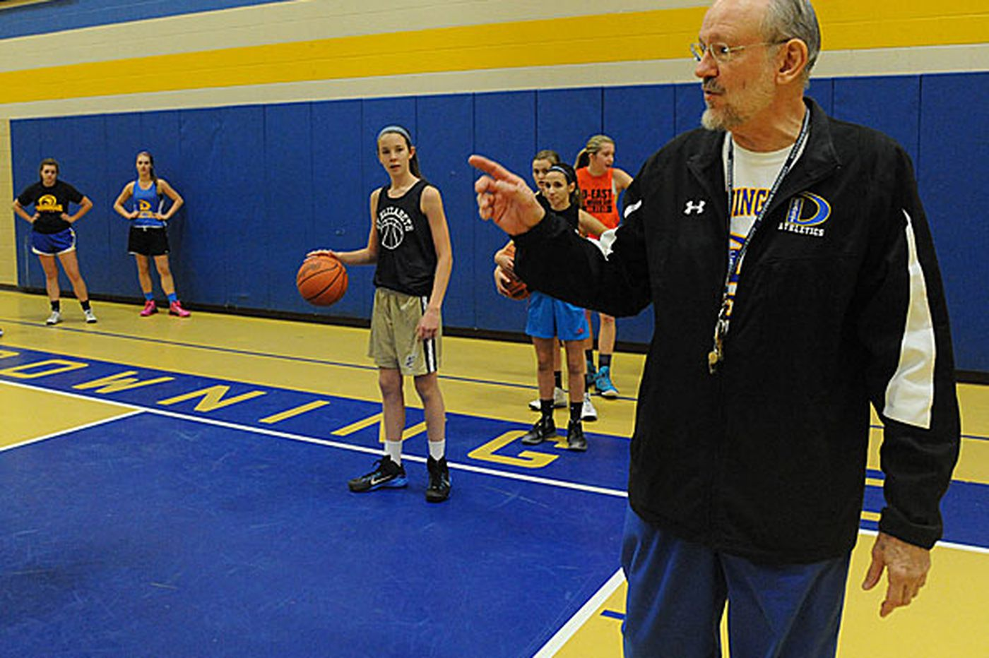 Downingtown East's Schnure back where he was all along