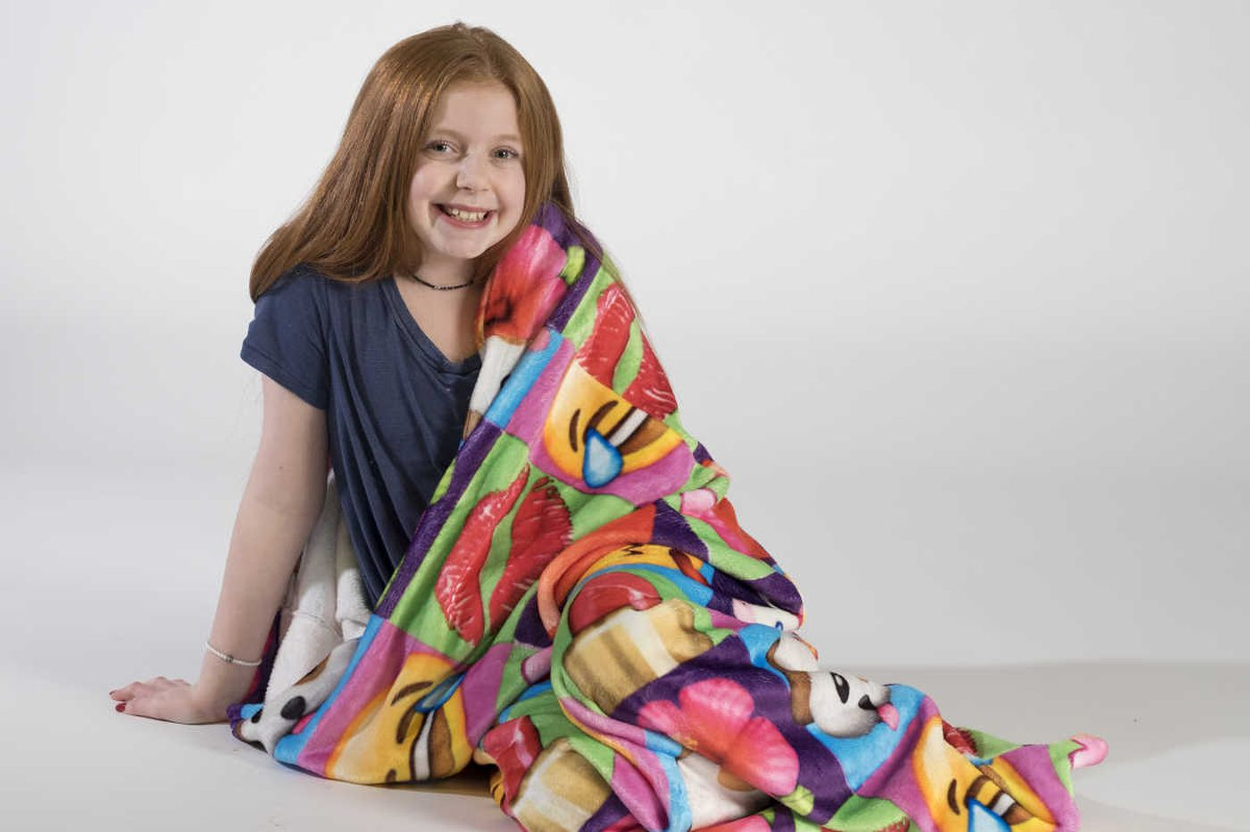 The latest in sleepover fashion: kiddie snuggies