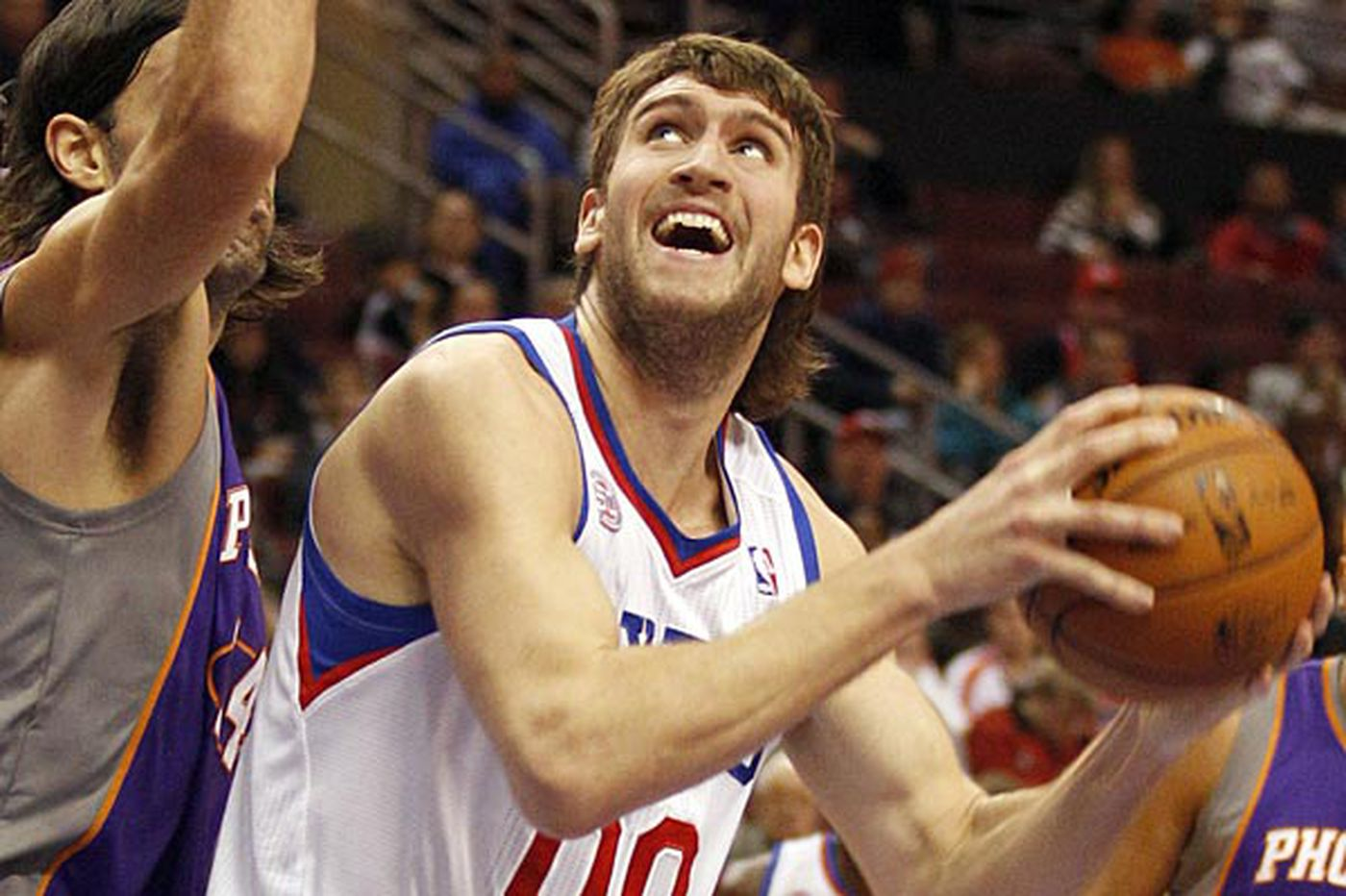 Sixers looking for more from Spencer Hawes