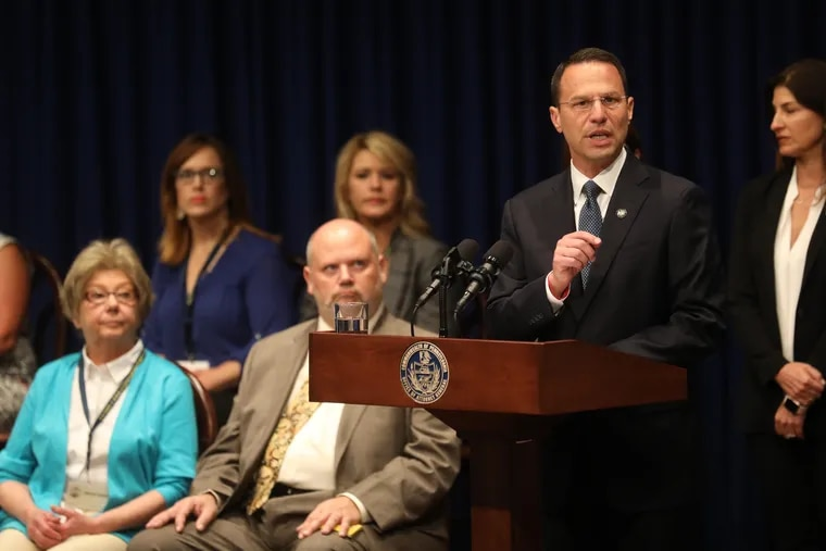 Pennsylvania Attorney General Josh Shapiro releases the findings of a two-year grand jury investigation into clergy abuse at six of the state's Roman Catholic Dioceses.
