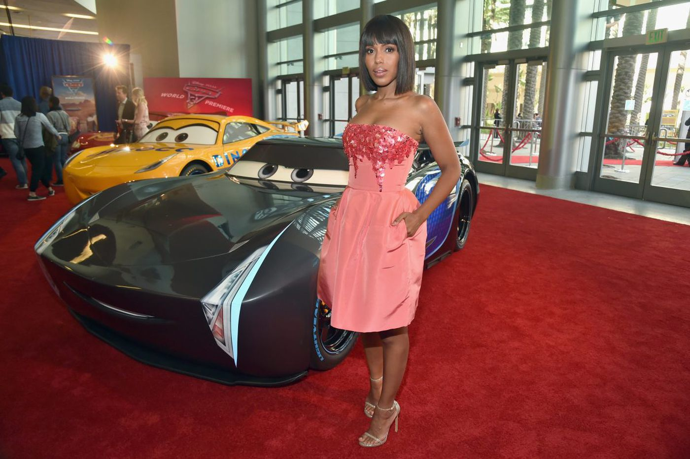 With career at full speed, Kerry Washington takes on 'Cars 3'