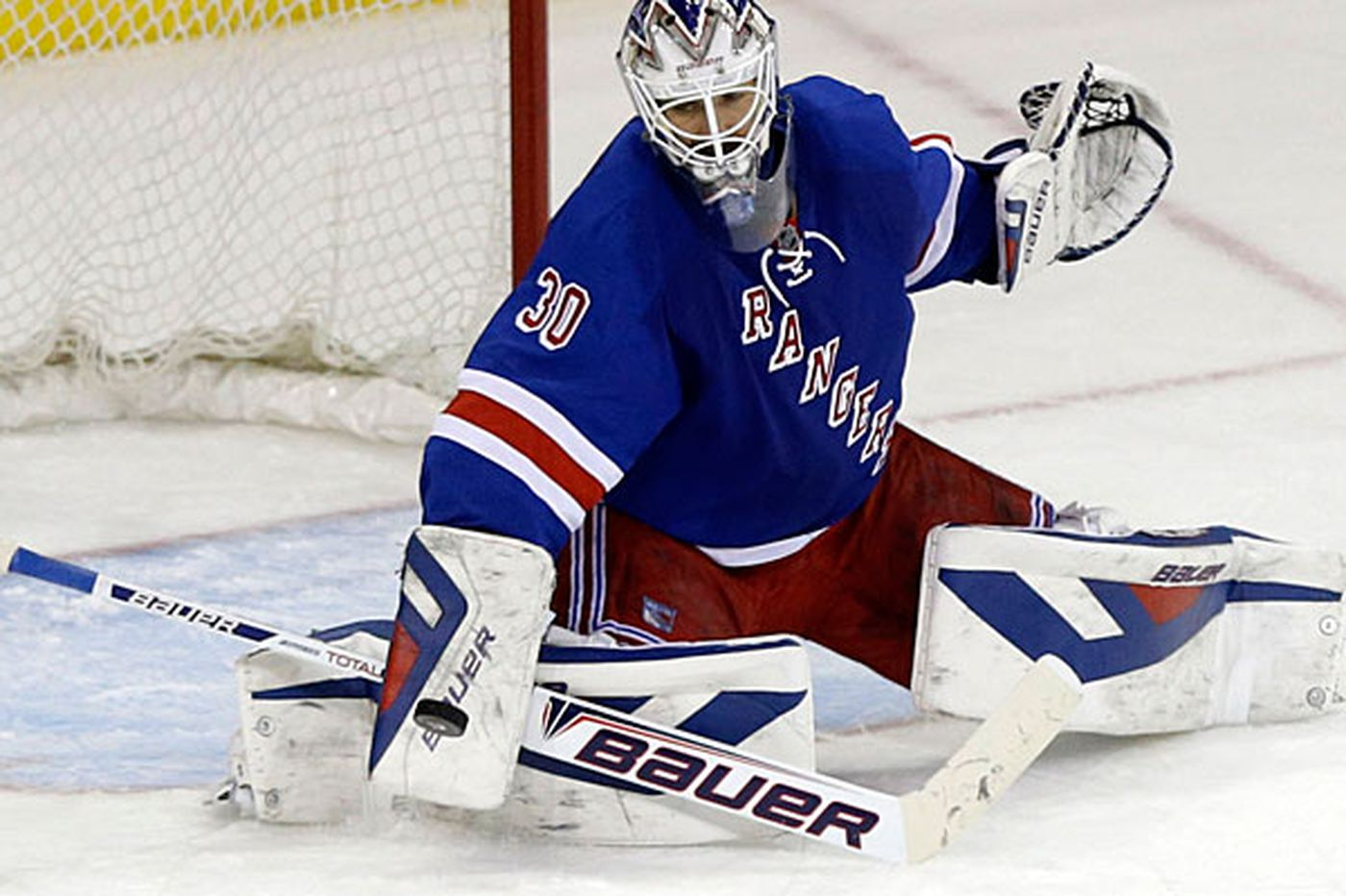 Lundqvist reliable in Rangers' nets