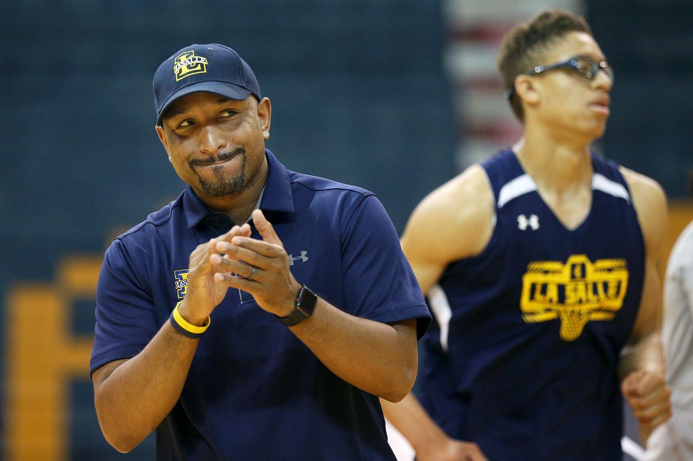 Ashley Howard is settling in as La Salle basketball coach
