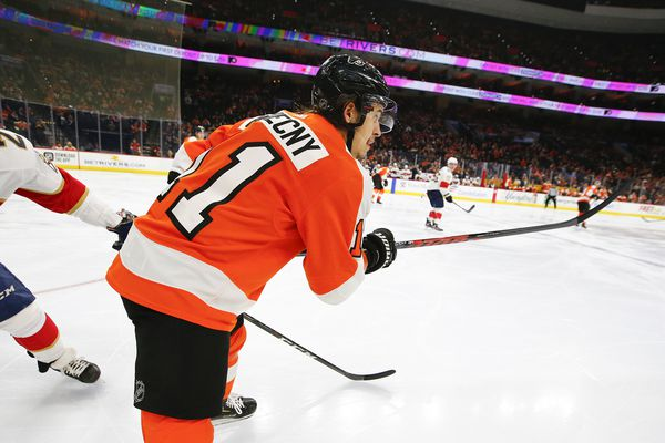 Travis Konecny 'put his body on the line' for big win against Florida